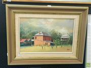 Sale 8640 - Lot 2056 - John Vander - Sofala, oil on board, signed lower right