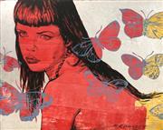 Sale 8657E - Lot 5033 - David Bromley (1960 - ) - Simone 120 x 150cm