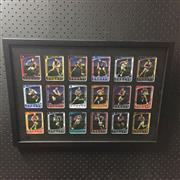 Sale 8828 - Lot 2043 - Weetbix Captain Wildcard, 2012, Set of 18, framed