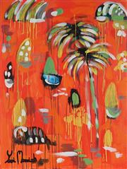 Sale 8826A - Lot 5067 - Yosi Messiah (1964 - ) - Fire Palms 100 x 75cm