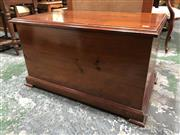 Sale 8822 - Lot 1861 - Timber Lift Top Trunk