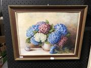 Sale 8856 - Lot 2095 - Milton Rumble - Flowers, Oil, SLL