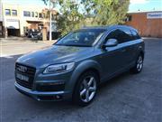 Sale 8485V - Lot 5001 - Audi Q7 S-Line Quattro                                                                      Body: Wagon...