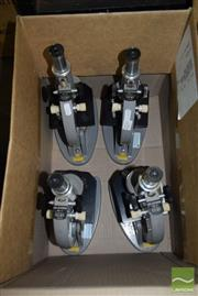 Sale 8509 - Lot 2231 - Collection of Four Microscopes