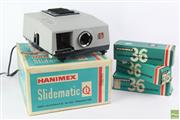 Sale 8608 - Lot 64 - Hanimax Semi Automatic Slide Projector