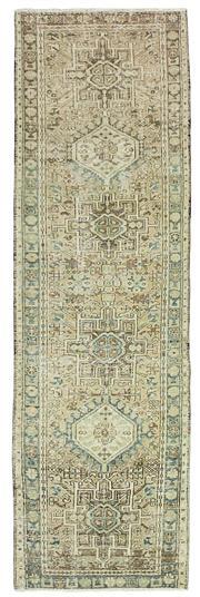 Sale 8871H - Lot 116 - A Cadrys antique Persian Heriz runner C1950, handspun wool. 260 x 77cm