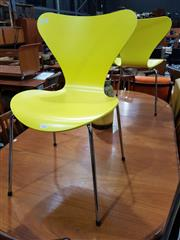 Sale 8930 - Lot 1032 - Fritz Hansen Pair of Series 7 Dining Chairs