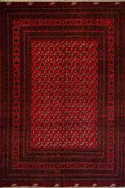Sale 8439C - Lot 64 - Afghan Bukhara 200cm x 300cm
