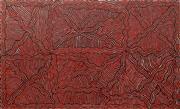 Sale 8583 - Lot 582 - Kaylene Nangala (c1973 - ) - Womens Ceremony - Wilkinkarra Lake Mackay 90 x 150cm (stretched & ready to hang)