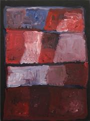 Sale 8606 - Lot 521 - Kudditji Kngwarreye (c1928 - 2017) - My Country 87 x 64cm (stretched & ready to hang)