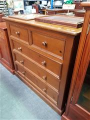 Sale 8672 - Lot 1038 - Timber Five Drawer Chest