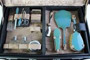 Sale 8989 - Lot 75 - Australian Leather Cased Toiletry Set (Manok & Renkart, Sydney)