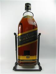Sale 8290 - Lot 500 - 1x Johnnie Walker Black Label 12YO Blended Scotch Whisky - 4500ml bottle on cradle