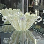 Sale 8379 - Lot 6 - Murano Glass Aventurine Bowl