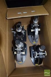 Sale 8509 - Lot 2230 - Collection of Four Microscopes