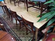 Sale 8570 - Lot 1089 - Recycled Oak Retro Style Dining Table (220)