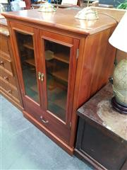 Sale 8672 - Lot 1036 - Timber Display Cabinet