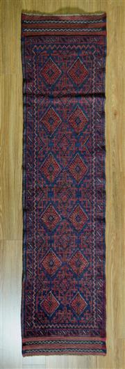 Sale 8693C - Lot 78 - Persian Baluchi Runner 252cm x 60cm