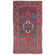 Sale 8810C - Lot 5 - A Caucasian Antique Kazak, c. 1950 In Handspun Wool, 152 x 270cm