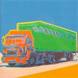 Sale 9174JM - Lot 5031 - ANDY WARHOL (1928 - 1987) Truck 368 offset lithograph on Arches paper, 59/100 framed size 65 x 58cm numbered in pencil lower left, d...