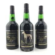 Sale 8611W - Lot 11 - 3x 1979 Hoffmanns White Panther Vintage Port