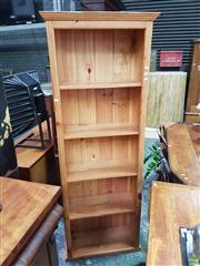 Sale 8601 - Lot 1473 - Pine Open Bookshelf