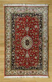 Sale 8693C - Lot 79 - Super Fine Kasmiri Silk 156cm x 92cm