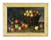 Sale 8828B - Lot 37 - Artist Unknown, European school - Still life of Apples 38 x 55cm
