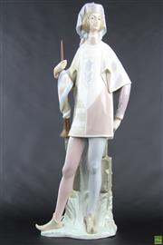 Sale 8572 - Lot 95 - LLadro Figure Of A Trumpet Player