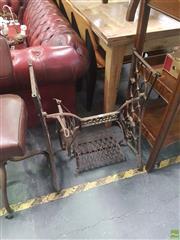 Sale 8648C - Lot 1065 - Singer Sewing Machine Base