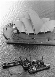 Sale 8721A - Lot 3 - Andrew Murray - Sydney Opera House, 1989 25 x 20cm
