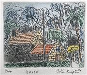 Sale 8996A - Lot 5038 - Peter Kingston (1943 - ) - The Bride, 1989 38 x 28.5 cm