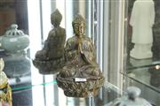 Sale 8348 - Lot 39 - Bronze Buddha Figure