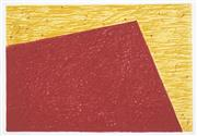 Sale 8525 - Lot 2087 - Helen Eager (1952 - ) - Untitled, 1997 (Red and Yellow Composition) 42.5 x 62.5cm (frame size: 74 x 94.5cm)