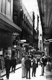 Sale 8721A - Lot 4 - Artist Unknown - Rowe Street, Sydney NSW 1961 30 x 20cm