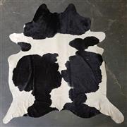 Sale 8782 - Lot 1056 - Black & White Cow Hide (272 x 246cm)