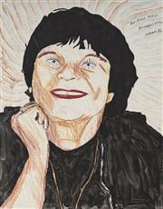 Sale 9084 - Lot 505 - Richard Larter (1929 - 2014) - Pat Larter, 1992 38 x 51 cm (frame: 82 x 45 x 2 cm)