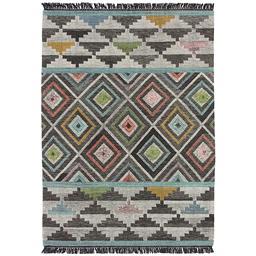 Sale 9185C - Lot 37 - INDIA AZTEC DESIGN FLATWEAVE, 160X230CM, HANDSPUN WOOL