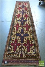 Sale 8341 - Lot 1091 - Persian Sumac Runner (380 x 75cm)
