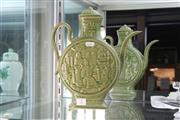 Sale 8346 - Lot 7 - Chinese Green Glaze Ewer
