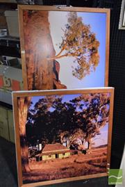 Sale 8518 - Lot 2083 - 2 Photographs of the Australian Outback (framed/various sizes)