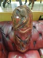 Sale 8648C - Lot 1069 - Tribal Carved Mask