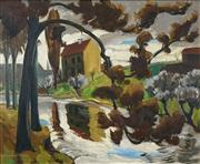 Sale 8865 - Lot 2018 - Ulrik Hendriksen (1891 - 1960) - Ny- HeelesundNy - Heelesund 49 x 60cm