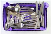 Sale 8852 - Lot 88 - A Collection of Early Christoffle Plated Cutlery