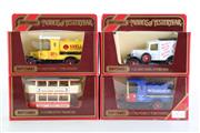 Sale 8960T - Lot 21 - A Set Of Four Matchbox Models of Yesteryear Toy Cars Incl Mobil