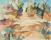 Sale 9067 - Lot 581 - Ingrid Haydon (1945 - ) - Hawkesbury Sandstone 44 x 54.5 cm (59 x 67 x 7 cm)