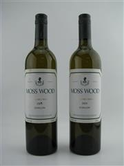 Sale 8498 - Lot 1858 - 2x 2004 Moss Wood Semillon, Margaret River