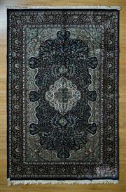Sale 8693C - Lot 82 - Indian Silk Kashan 278cm x 180cm