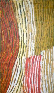 Sale 8786 - Lot 563 - Makinti Napanangka (c1930 - 2011) - Untitled 200 x 125cm