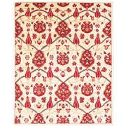 Sale 8810C - Lot 10 - An Afghan Revival Suzani Design in Handspun Wool, 240 x 305cm